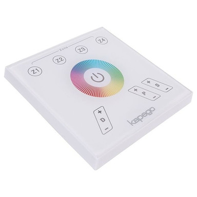 Kapego RF Touchpanel in Weiss RGB