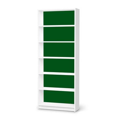 Klebefolie IKEA Billy Regal 6 Fächer - Grün Dark- Bild 1
