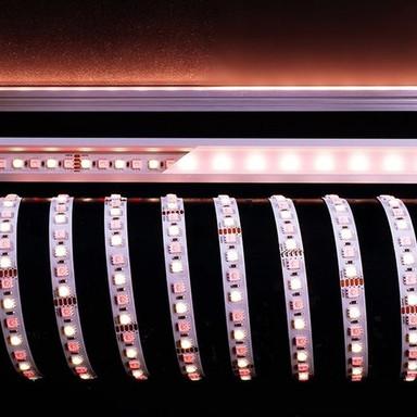 LED Stripe 5050-96-24V-Rgb&4200K-5M in Weiss 3700lm