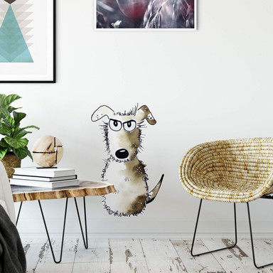 Wandtattoo Hagenmeyer - Kleiner Hund
