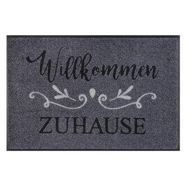 Wash&Dry Fussmatte Willkommen Zuhause 50x75cm