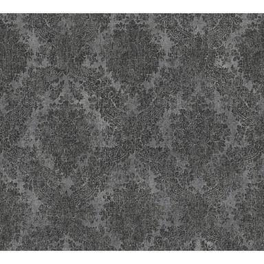 A.S. Création Tapete Secret Garden grau, metallic, schwarz