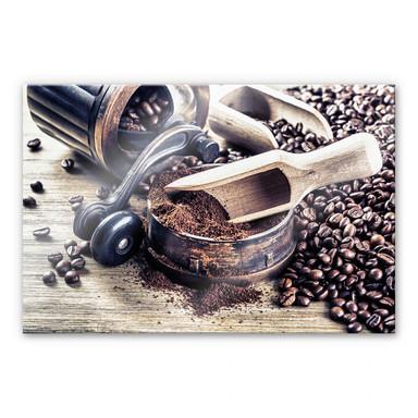 Acrylglasbild Kaffeeduft