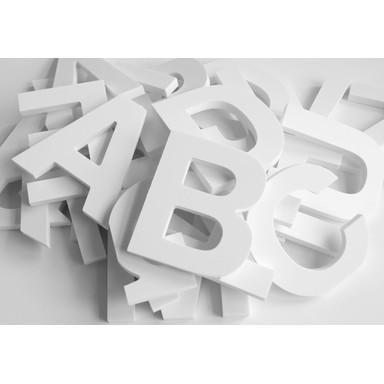Dekobuchstaben 3D Alphabet (26-teilig) - Bild 1