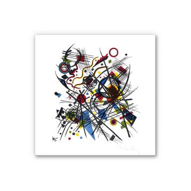 Wandbild Kandinsky - Lithographie fuer die Bauhausmappe