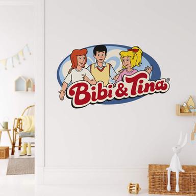 Wandsticker Bibi&Tina - Logo Bibi Tina Alex