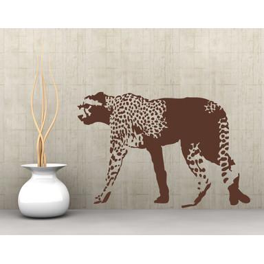 Wandtattoo Gepard