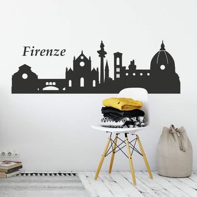 Wandtattoo Skyline Firenze (Florenz)