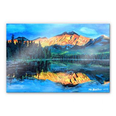Acrylglasbild Bleichner - Kanada - Der Jasper Nationalpark