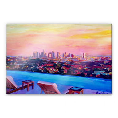 Acrylglasbild Bleichner - Los Angeles