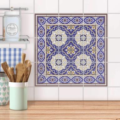 Fliesenaufkleber Set - Arabic Tiles