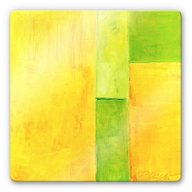 Glasbild Schüssler - Spring Composition III