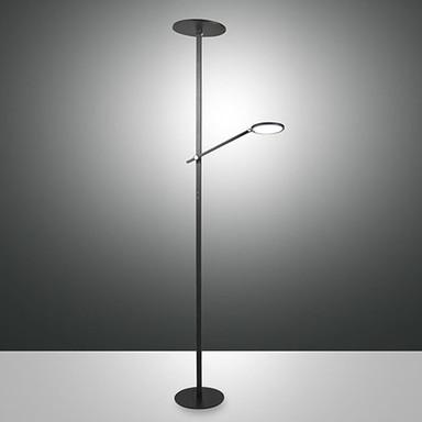 LED Deckenfluter Regina in Schwarz 36W 3000lm