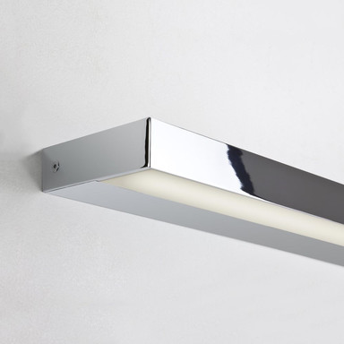 LED Spiegelleuchte Axios in Chrom 22.7W, 1282lm, IP44