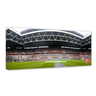 Leinwandbild Fortuna Düsseldorf Esprit Arena Innenaufnahme