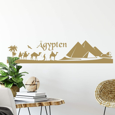 Wandtattoo Ägypten