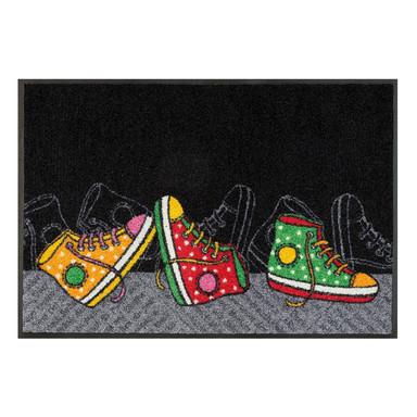Wash&Dry Fussmatte Happy Sneakers 50x75cm