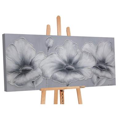 Acryl Gemälde handgemalt Blumen 140x70cm - Bild 1