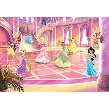 Fototapete Disney Princess Glitzerparty