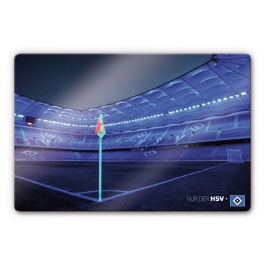 Glasbild HSV Imtech Arena 7