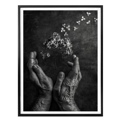 Poster Clough - Tempus fugit
