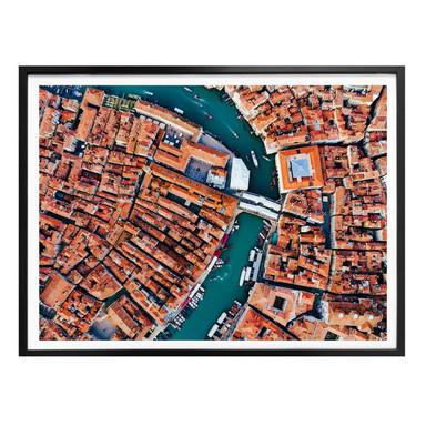 Poster Colombo - Venedig von oben