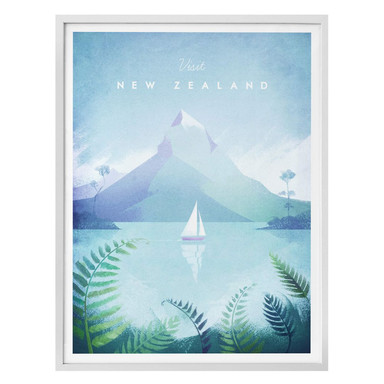 Poster Rivers - Neuseeland