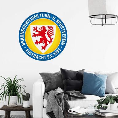 Wandsticker Eintracht Braunschweig Logo