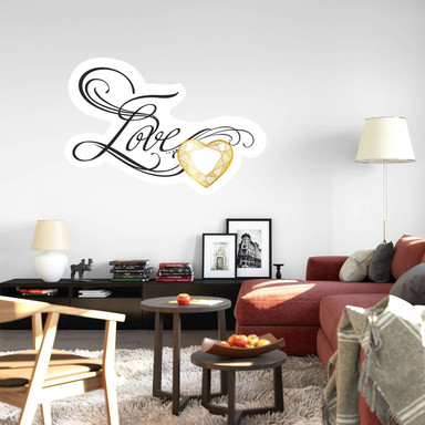 Wandsticker LA Ink Love