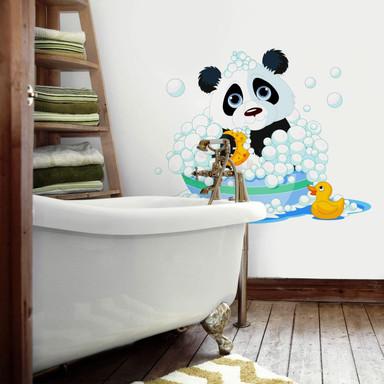 Wandtattoo Badender Panda