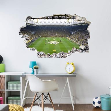 3D Wandsticker BVB Fan Choreo - Bild 1
