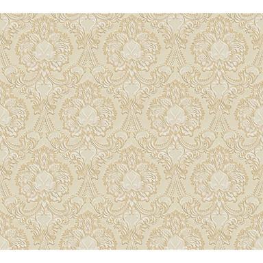 A.S. Création Papiertapete Concerto 3 Tapete mit Ornamenten barock beige, metallic