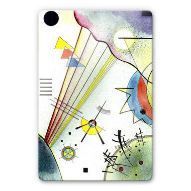 Glasbild Kandinsky - Deutliche Verbindung