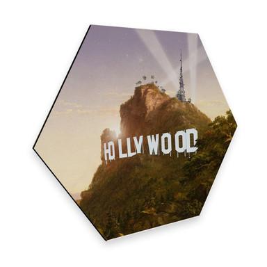 Hexagon - Alu-Dibond Loose - Hollywood