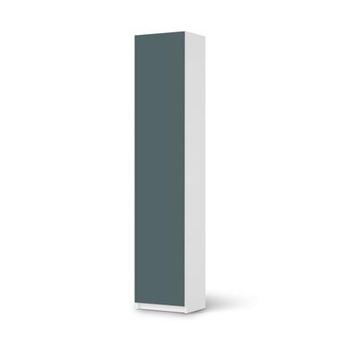 Klebefolie IKEA Pax Schrank 236cm Höhe - 1 Tür - Blaugrau Light- Bild 1