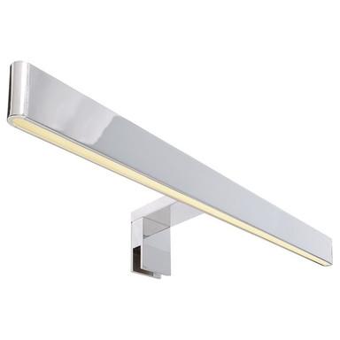 LED Spiegelleuchte Line in Silber und Chrom 12W 550lm IP44 512mm