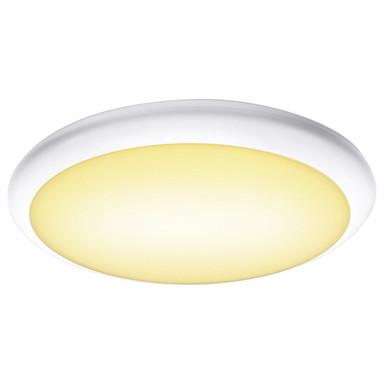LED Wand- und Deckenleuchte Ruba 16 Cw in Weiss 24W 2230lm IP65