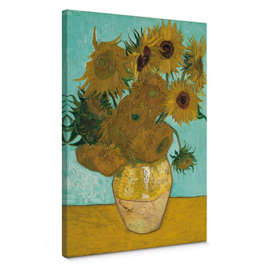 Leinwandbild van Gogh - Sonnenblumen