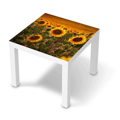 Möbelfolie IKEA Lack Tisch 55x55cm - Sunflowers