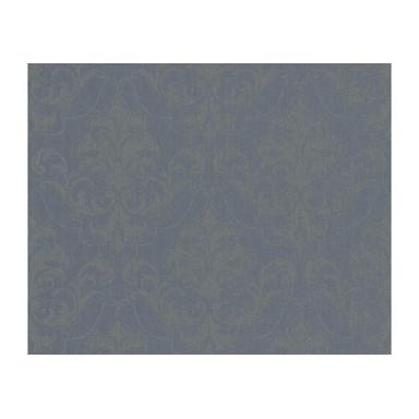 Mustertapeten Architects Paper Textiltapete Haute Couture 3 Blau, Grau, Metallic