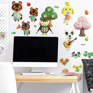 Wandsticker Nintendo Animal Crossing - Bild 1