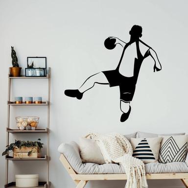 Wandtattoo Handballer 02