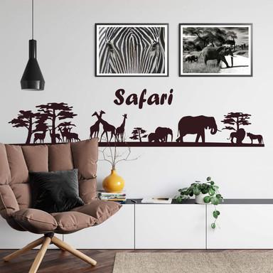 Wandtattoo Safari 1