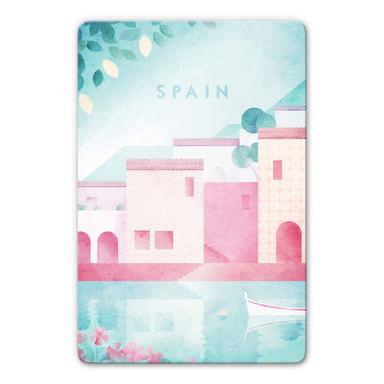 Glasbild Rivers - Spanien