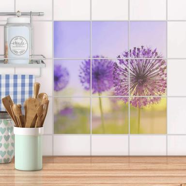 Klebefliesen - Spring Flower - 9er Set