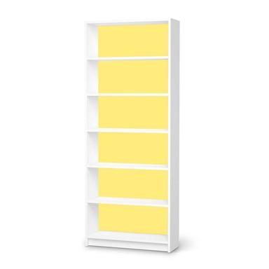 Klebefolie IKEA Billy Regal 6 Fächer - Gelb Light- Bild 1
