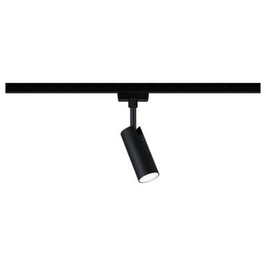 LED URail Spot Tubo in Schwarz-matt und Chrom 5W 170lm