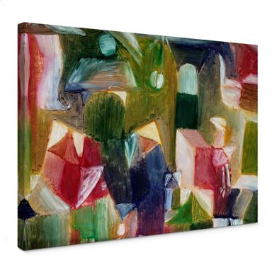 Leinwandbild Klee - Vogelbild