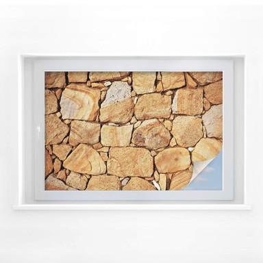 Sichtschutzfolie Mauer 03