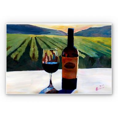 Wandbild Bleichner - Wein in Napa Valley